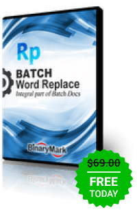Batch Word Replace Professional 5