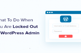Locked Out Of WordPress